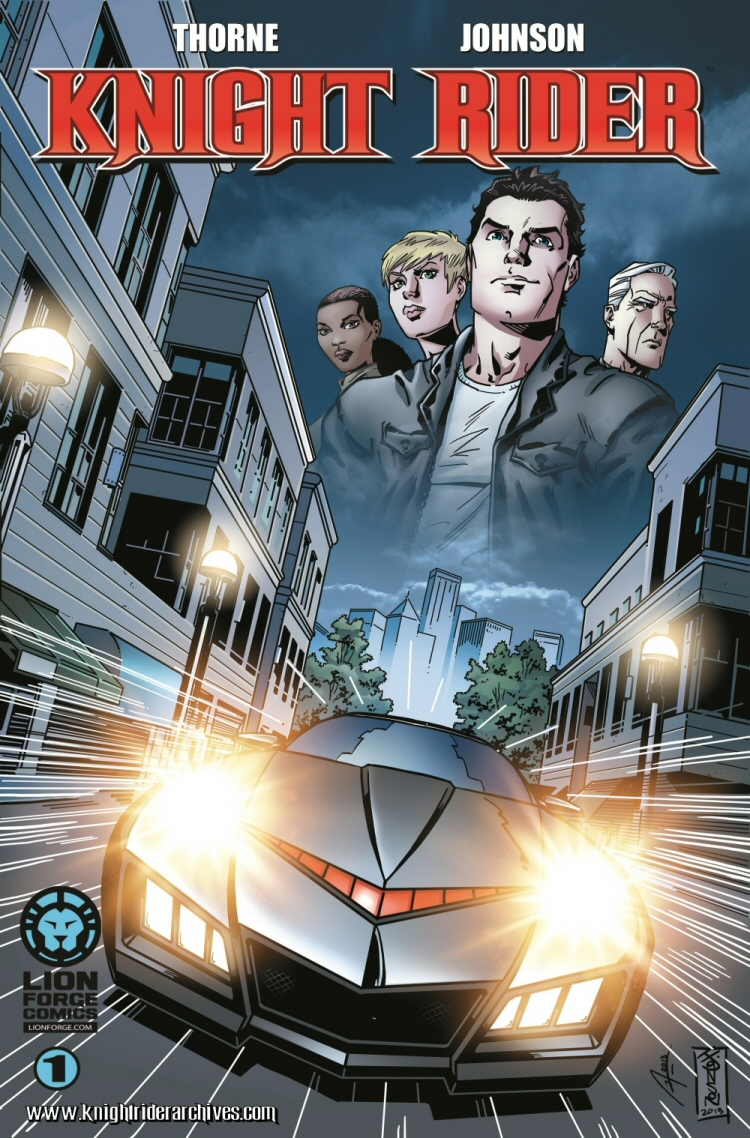 LionForge KnightRider Cover kra